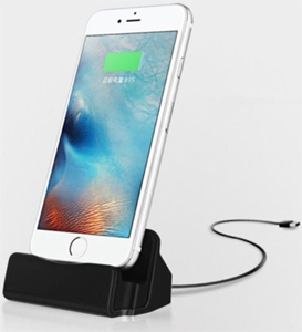 iPhone Charge & Sync Dock Station for iPhone 5/6/7/8/X (2 For $16)