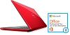 "Dell Inspiron 15-5565 15.6"" AMD A9 8GB RAM Notebook PC w/Office Pro 2016 (Red) (Refurb)"