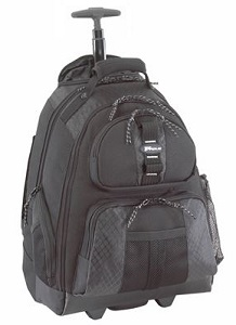 "Targus 15.4"" Rolling Laptop Backpack"