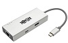 Tripp Lite USB-C Docking Station for PCs, Chromebooks, Tablets & Smartphones