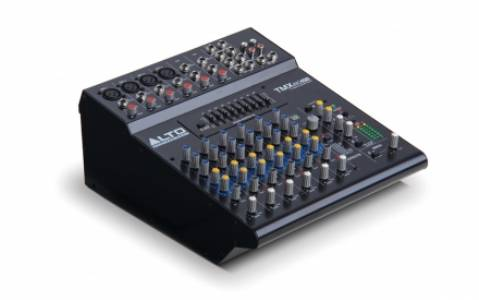 Alto Professional Empire TMX80DFX 8-Channel Tabletop Powered Mixer with Effects