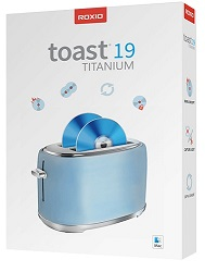 Roxio Toast 19 Titanium with Audio Editing Tools for Mac (Download) LARGE