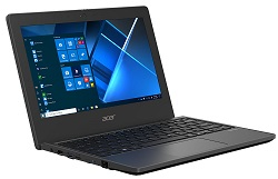 "Acer TravelMate B3 11.6"" Intel Celeron 4GB RAM 128GB eMMC Laptop w/Windows 10 Pro Education Edition LARGE"