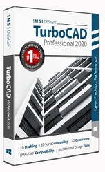 TurboCAD 2020 Professional for Windows (Download) LARGE