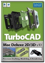 TurboCAD Mac Deluxe 2D/3D v10 for Mac (Electronic Software Download)