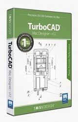 TurboCAD Mac Designer 2D v12 10-User School License (Download) LARGE