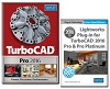 TurboCAD Pro 2016 for Windows with Lightworks Plug-In (Electronic Software Download)