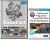 TurboCAD Pro Platinum 2016 for Windows with Lightworks Plug-In (Electronic Software Download)