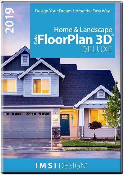 TurboFloorPlan Home & Landscape Deluxe 2019 - WINDOWS