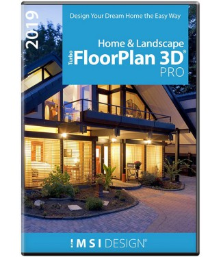 TurboFloorPlan Home & Landscape Pro 2019 for Windows (Download) THUMBNAIL