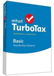 Intuit TurboTax Basic 2015 for Mac or Windows