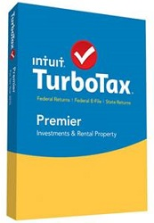 Intuit TurboTax Premier 2015 for Mac or Windows