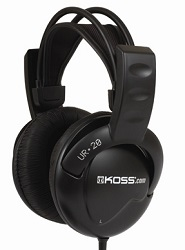 KOSS UR20 Collapsible Stereo Headphones
