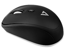 V7 Wireless Mobile Ambidextrous Optical Mouse (On Sale!) LARGE