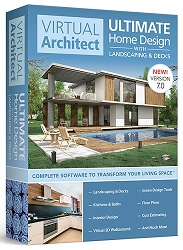 Avanquest Virtual Architect Ultimate Home Design with Landscaping and Decks 7 for Windows (Download) LARGE