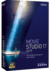 MAGIX Creative Software VEGAS Movie Studio 17 Suite (Download) LARGE