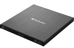 Verbatim External Slimline Blu-ray Reader/Writer LARGE