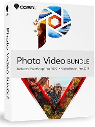 Corel Photo Video Bundle Academic with 1-Year Maintenance (Download) LARGE