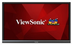 "ViewSonic ViewBoard IFP6550 65"" Interactive Flat Panel Display Classroom Mobile-Mount Bundle LARGE"