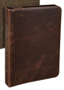 "Samsill Vintage Hardback 10"" Tablet Case (Brown)"