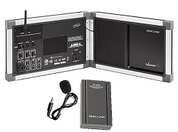 SMK-Link GoSpeak Pro VP3420 Public Address System with Wireless Lapel Microphone