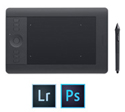 Wacom Intuos Pro Pen & Touch Tablet with FREE Adobe Creative Cloud Photography Plan (Small)