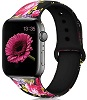 Colorful Print HQ Elastomer Bands for Apple Watch Series 1-5 (11 Patterns) SWATCH
