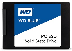 "WD Blue 2.5"" 500GB 3D NAND SATA SSD Solid State Drive LARGE"
