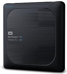 WD My Passport Wireless Pro Portable Hard Drive 1TB with FREE AntiVirus for Windows