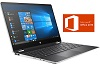 "HP Pavilion x360 15.6"" Touchscreen Intel Core i5 8GB RAM 2-in-1 Laptop w/MS Office (Refurb) - 2 LEFT THUMBNAIL"