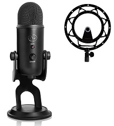 Blue Microphones Yeti Blackout USB Microphone Studio Edition