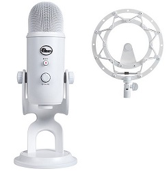 Blue Microphones Yeti Whiteout USB Microphone Studio Edition