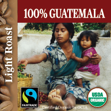 100% Guatemala - Light roast