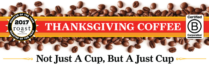Thanksgiving Coffee Online Store
