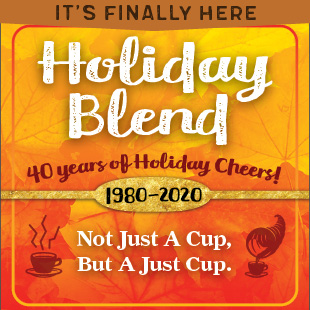 It's finally here. 2020 Holiday Blend.