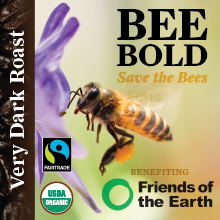 BEE BOLD - Very Dark Roast