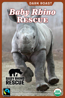 Baby Rhino Rescue - Dark Roast THUMBNAIL