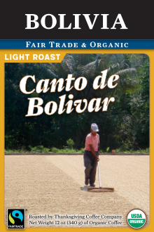 Organic Bolivia Coffee