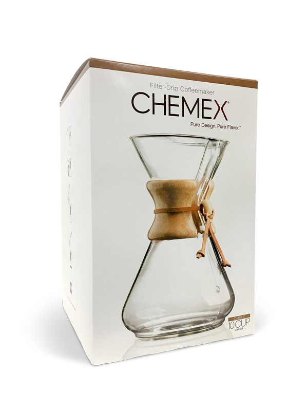 Chemex 10 Cup Classic Pour-Over Coffee Maker MAIN
