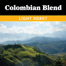 Thanksgiving Coffee Colombian Blend - light roast THUMBNAIL