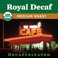 Thanksgiving Coffee Royal Decaf - medium roast, organic blend THUMBNAIL