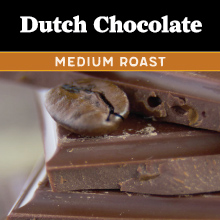Thanksgiving Coffee Dutch Chocolate - medium roast THUMBNAIL