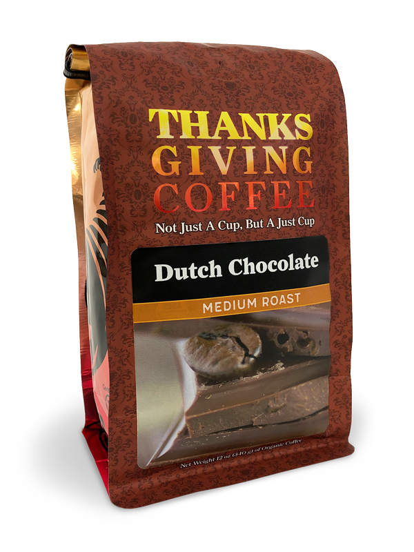 Thanksgiving Coffee Dutch Chocolate - medium roast MAIN