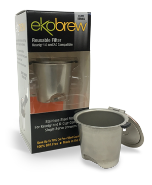 Ekobrew Elite Stainless Steel K Cup Thanksgiving Coffee Company