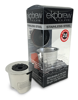 Ekobrew Elite stainless steel refillable K cup MAIN