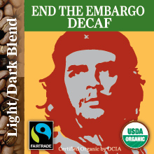 End The Embargo - Decaf