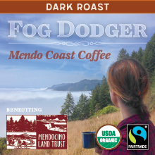 Thanksgiving Coffee Fog Dodger - dark Vienna roast, Fair Trade, organic blend THUMBNAIL