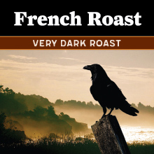 Thanksgiving Coffee French Roast - very dark roast coffee blend THUMBNAIL