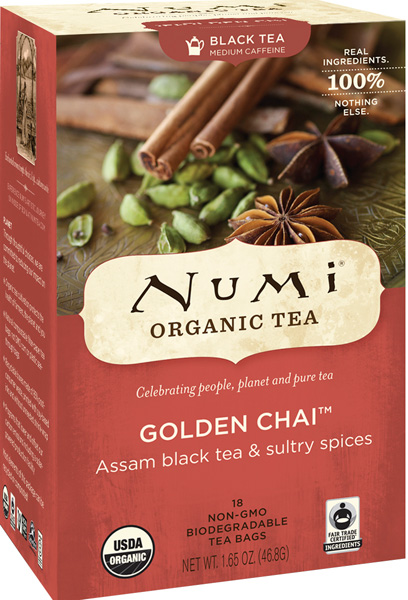 Numi Tea - Golden Chai