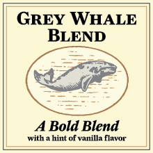 Thanksgiving Coffee Grey Whale Blend - medium roast, vanilla flavored coffee THUMBNAIL